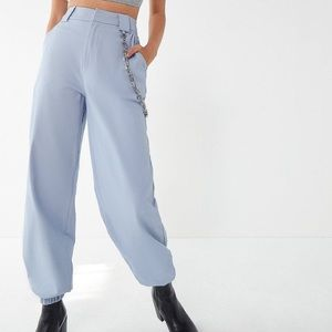 High Waist Utility Trousers